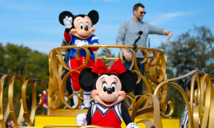 Super Bowl Parade No Magic Kingdom Orlando Em Revista